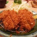 とん亭 - 黒豚ヒレカツ定食(2250円)