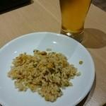 41529643 - 炒飯、ビール!