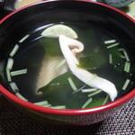 淡路島 さと味 - ☆お吸い物は松茸が♪☆