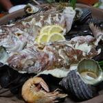 さと味 - ☆鯛の宝楽焼き(●^o^●)☆