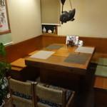 淡路島 さと味 - ☆テーブル席もありました☆