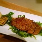 Vamos Tokyo - 豚のグリル マスタードソース