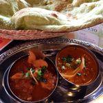 インドカレーヘブン - 料理写真:ダブルカレーランチ