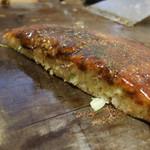 杉の香 - 料理写真:牛肉玉焼の断面