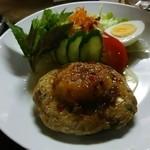 よろん坂 - 料理写真:飛び魚バーグ