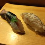 大和寿司 - 〆さば、のどぐろ