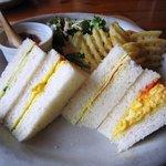 ジューンベリー - 料理写真:えらんでブランチセット(サンドイッチ)650円