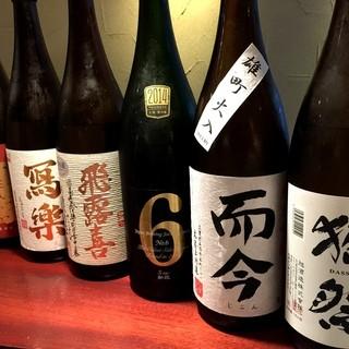 利き酒師女将厳選日本酒35種