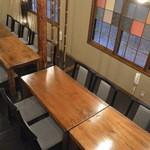 綴 - 二階のテーブル席
