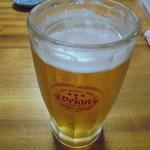 41543197 - 生オリオンビール500円