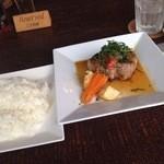 UNO - ハニーポークと大葉・醤油と柚子胡椒のソース1100円