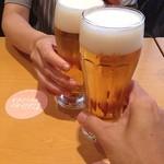 伊達の牛たん本舗 - 仙台最後のカンパーイ( ^ ^ )/■