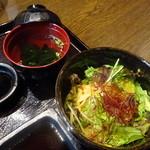 焼肉の龍園 - チョレギサラダ