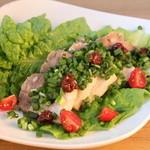bres - 塩麹ローストポークのサムギョプサル風