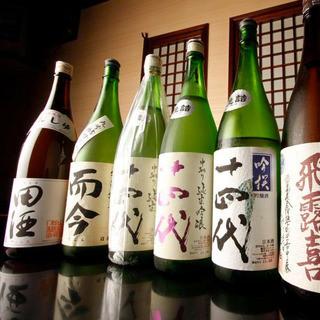 ★日本酒・地酒30種!飲み放題も◎