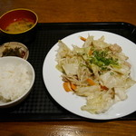 カラフル食堂 - ネギ塩ホルモン