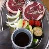 北海道じんぎすかん ラムラム - 料理写真:特上ラムステーキ