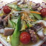 神戸料理道場 雄司 - 子蛸のサラダ