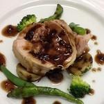 クレル・レヴェイエ - お任せ豚肉料理の一例