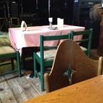 デルソル カフェ - テーブル1。