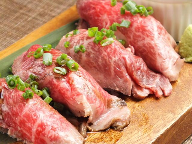 肉寿司飯テロ