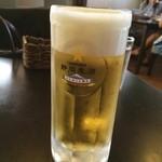 Tステーション - 静岡麦酒の生ビール(^_^)