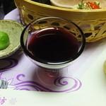 角の坊 - 食前酒