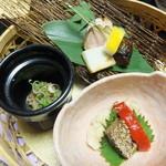 角の坊 - 前菜