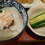 魚河岸料理 丸金酒場 - カニミソ  ¥450    きゅうり