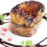 国産牛フィレ肉とフォアグラのロッシーニスタイル