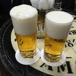 ビールスタンド重富 - 重参注ぎ