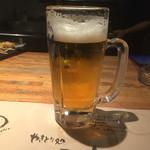 41556262 - 取り敢えず生ビール