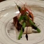 彩庵 - 梅肉ポークのオーブン焼き(*^^*)
