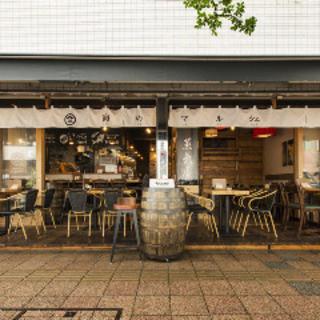 「湘南」の開放的で爽やかな風を感じさせる店構え