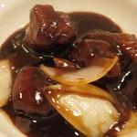 中華naきもち - 黒酢の~酢 豚