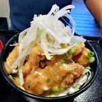 どんぶりブッチャー - 白のトリカラ丼(2015年9月)