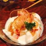 汀の月 - おぼろ豆腐