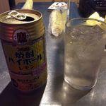 3ちゃん屋 - 焼酎ハイボール500円