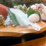 忠寿司 - お刺身盛り合わせ