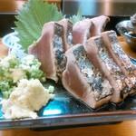 忠寿司 - カツオのたたきを頼んでみた