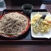 六兵衛 - 料理写真:もりそば¥400+天つけセット¥350