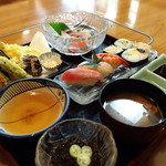 一茶すし - 料理写真:昼定食900円(税別)