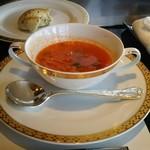 41566547 - トマトのスープ