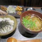 天雷軒 九段下 - 朝拉麺ご膳_2015/09