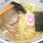 市々ラーメン - いつの間に中太麺に!?