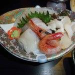 さんねむ温泉 - 新鮮な魚介