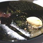レストラン ラッセ - 濃厚ガトーショコラとバニラのジェラート