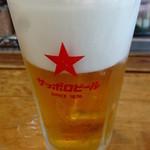 鮨 笹元 - 恵比寿の生麦酒