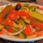 トルコ料理レストラン ヒサル - 羊飼いのサラダ