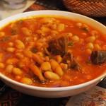 トルコ料理レストラン ヒサル - 白インゲン豆と肉の煮込み